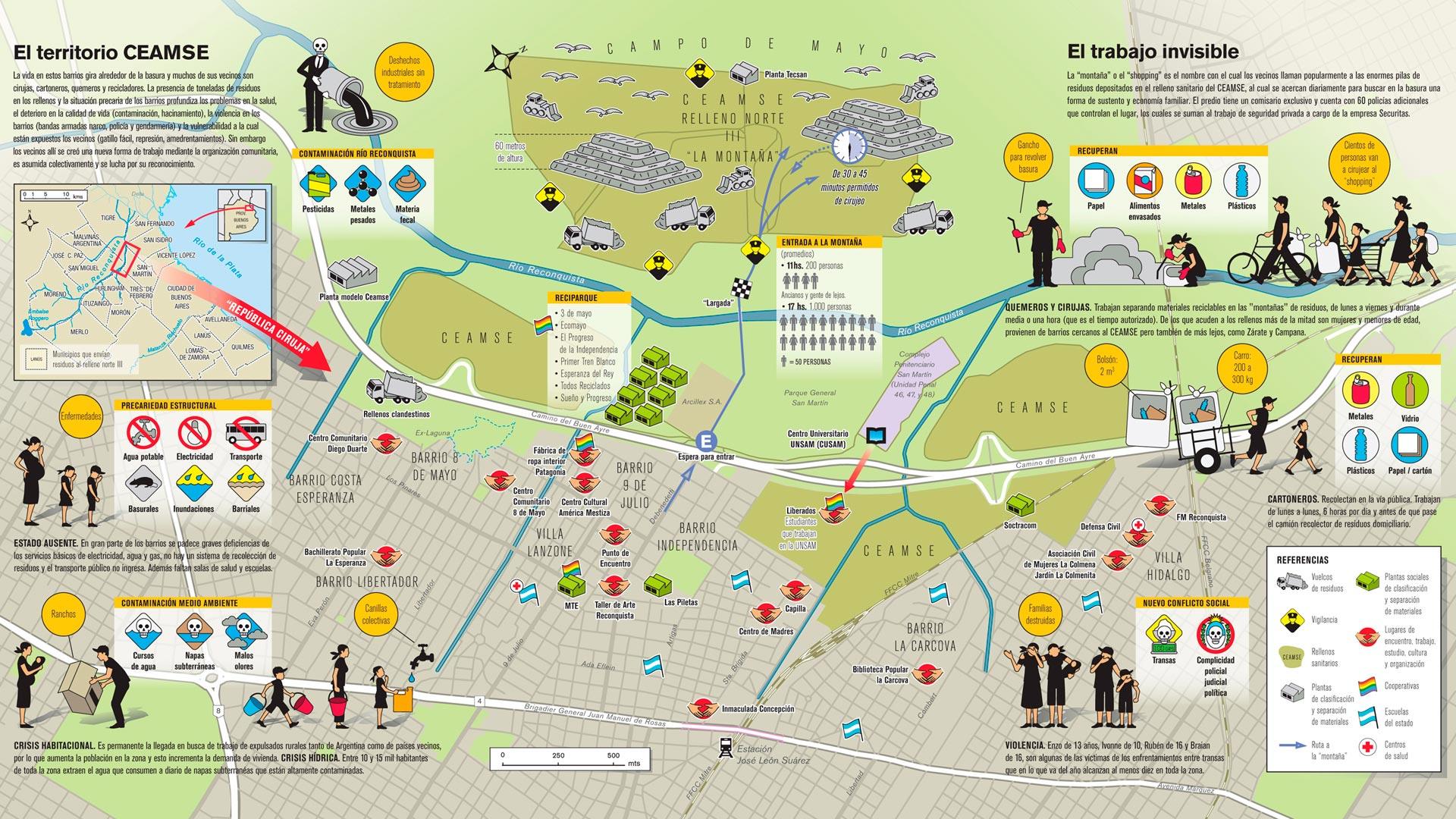 Tensiones sobre el mapa revista anfibia - Muebles martin los barrios ...