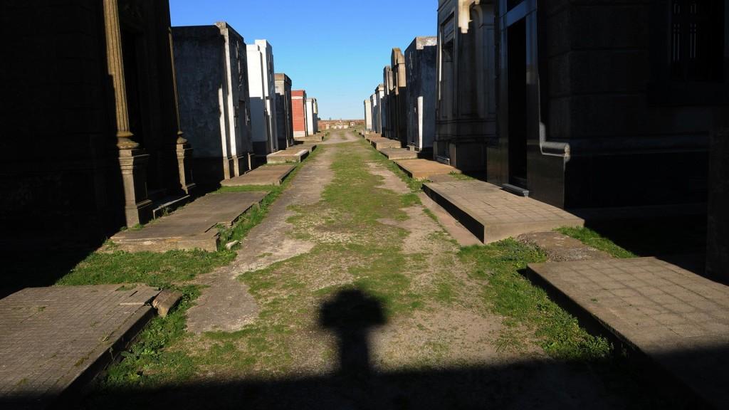 En el cementerio está enterrado Francisco Aguilar, muerto en marzo de 2014 y señalado como el apropiador de Guido Montoya Carlotto.