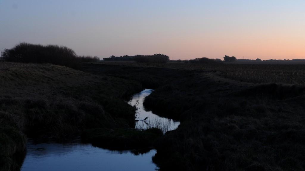 Arroyo Nievas, en las cercanías de Olavarría.