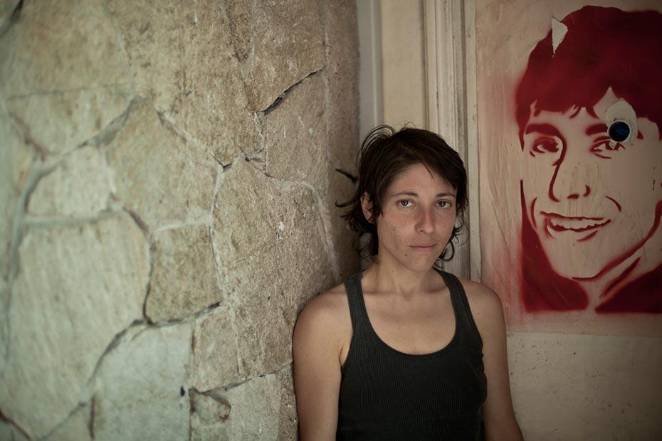 Vanesa Arruga, hermana de Luciano.
