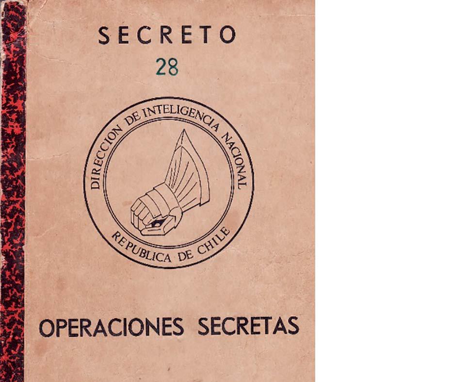 """El manual de """"Operaciones Secretas"""" de la DINA.  Un texto fechado en 1976"""