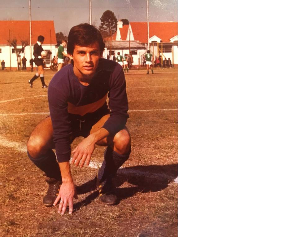 Javier Doland en Boca.