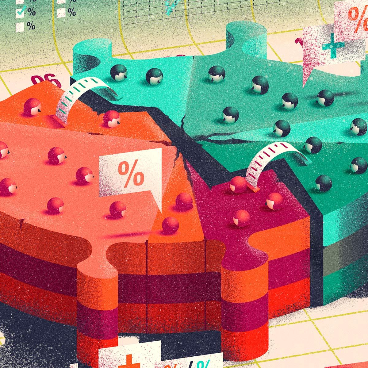 divididos por la pandemia