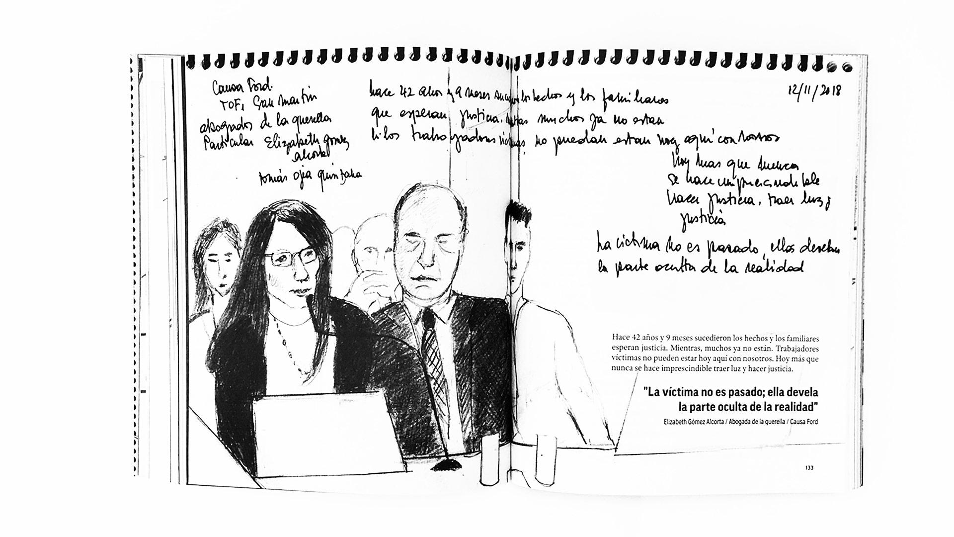 Qué hace una dibujante en los juicios de lesa humanidad_02