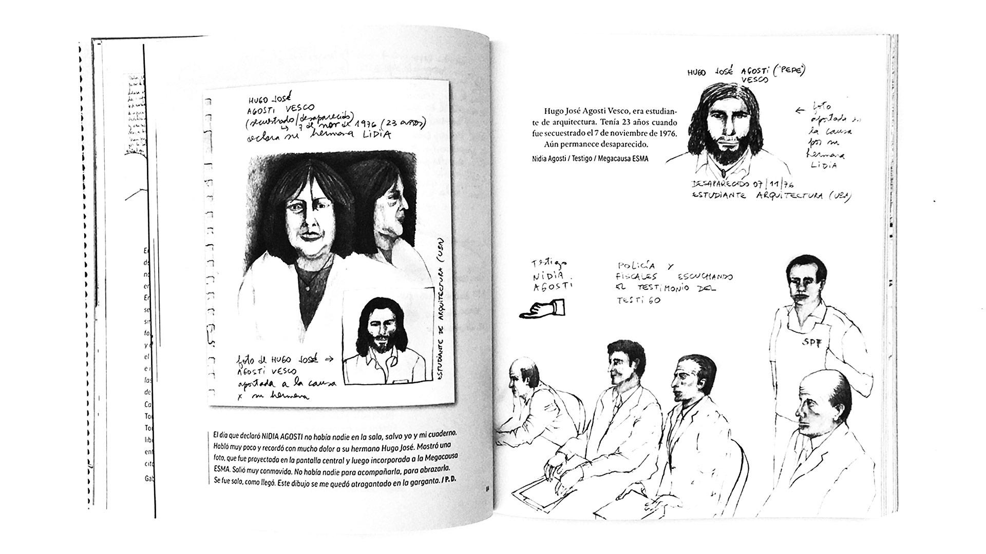 Qué hace una dibujante en los juicios de lesa humanidad_05