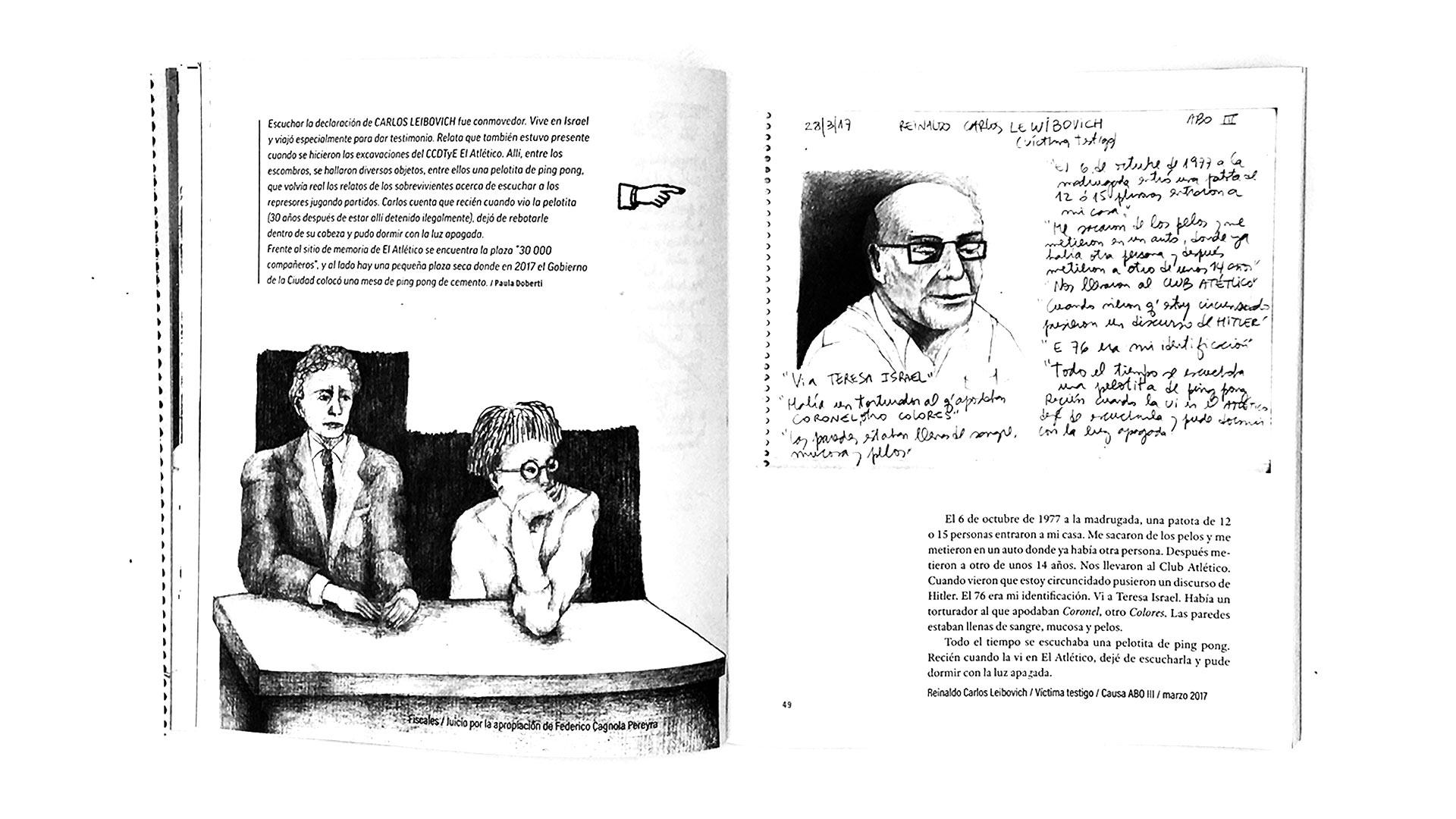 Qué hace una dibujante en los juicios de lesa humanidad_08