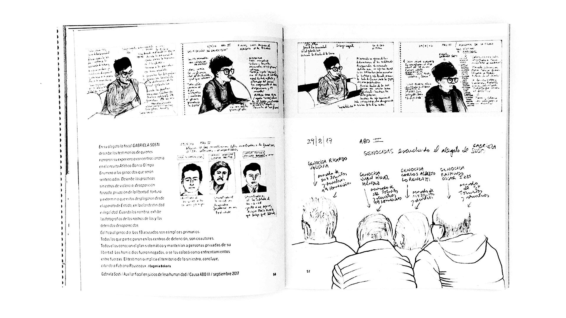 Qué hace una dibujante en los juicios de lesa humanidad_09
